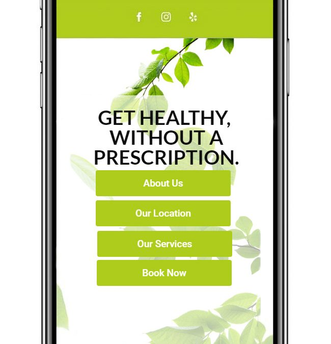 Health Practice Website