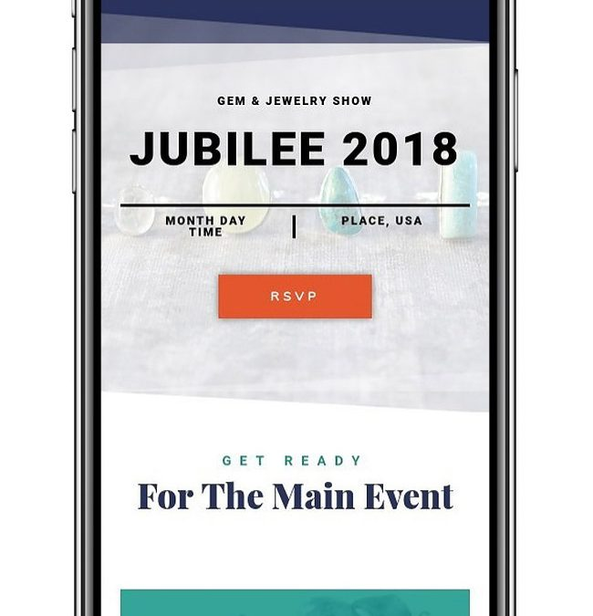 Event One Page Site